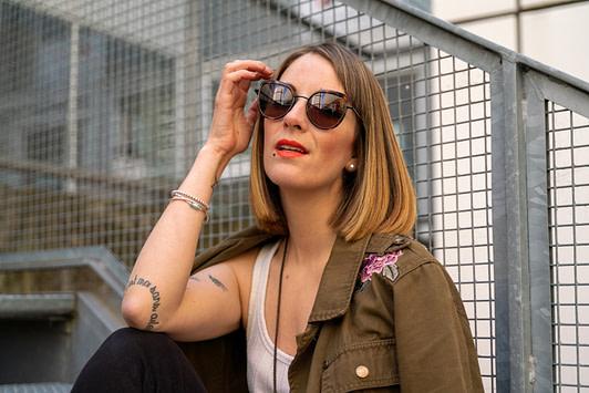 Séance mode avec Charlotte Martinet à Mériadek